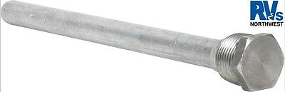 "Camco 11563 RV Morflo & Suburban Water Heater 9-1/2"" Anode Rod 3/4"" NPT"