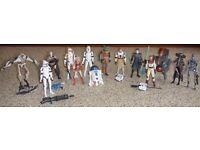 Star Wars Clone Wars Action Figures + Vehicles