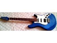 Great-looking Strat-type Guitar Wilkinson Pickups/Inbuilt Tuner