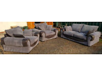 Large Sofa And Two Large Armchairs. Local delivery available