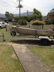 12ft Tinnie Boat - Has Really Tiny Leak At The Front Swan Hill Swan Hill Area Preview