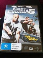 FAST AND FURIOUS 5 BRAND NEW! Kooragang Newcastle Area Preview