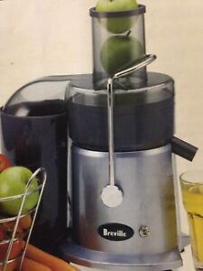 Breville Juicer Maker, makes a glass of Fresh Juice in seconds