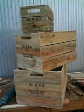 Wooden Crates Rustic - Regular sizes from $30 Burleigh Heads Gold Coast South Preview