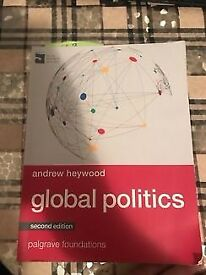 Global Politics (Palgrave Foundations Series) Paperback by Andrew Heywood