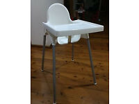 Ikea Antilop High Chair - Removable Legs and Tray
