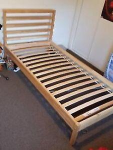 IKEA SINGLE BED FRAME - TARVA