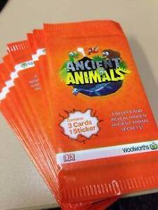 Woolworths Ancient Animals Cards & Stickers - Choose your own! Lockhart Lockhart Area Preview