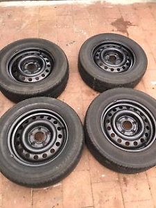 4x HOLDEN 15 INCH WHEELS TYRES 90% TREAD COMMODORE Box Hill Whitehorse Area Preview