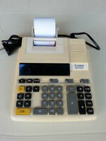 CANON MP12D Calculator /Adding Machine with Paper Print-Out