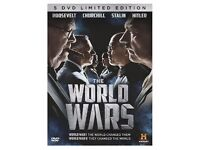 THE WORLD WARS 5 DVD LIMITED EDITION