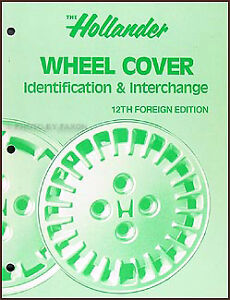 Hollander-Foreign-Wheel-Cover-Hub-Cap-Interchange-Book