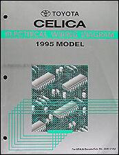 1995 Toyota Celica Wiring Diagram Original FULL COLOR ...