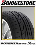 BRIDGESTONE POTENZA RE760 SPORT-$70 MAIL IN REBATE--647-827-2298