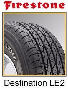 225/60R17 235/60R17 225/65R17 245/65R17 All season tire Firestone Destinatino LE2 100000 km Limited tread wear warranty