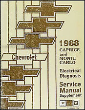 1988 Chevy Caprice Wiring Diagram Manual Classic ...