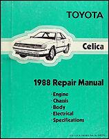 1988 Toyota Celica Repair Manual