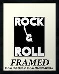 Rock & Roll Framed posters and more