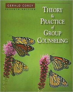THEORY AND PRACTICE OF GROUP COUNSELING 7/e (0534641741)