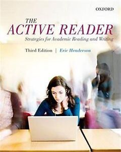 THE ACTIVE READER (THIRD EDITION)