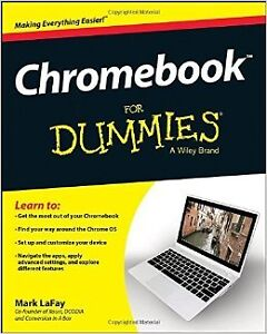 """I have a copy of the new """"Chromebook for Dummies"""" reg $29.99"""