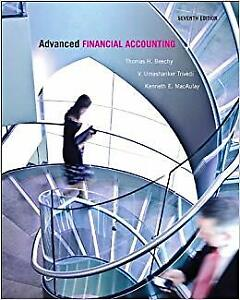 adms 4520 Advanced Financial Accounting 7th edition Beechy