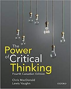 The Power of Critical Thinking 4th Edition