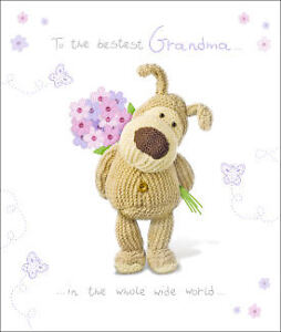 Boofle Birthday Card - Female Relations Mum Daughter Sister Grandma Wife etc...
