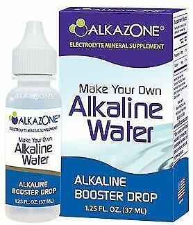 ALKAZONE Make Your Own Alkaline Water | 1 Pack Make 20 Gallo