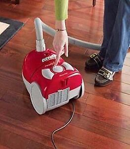 Eureka Bagged Canister Vacuum, compact size