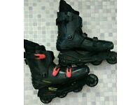 In line roller Skates size 10