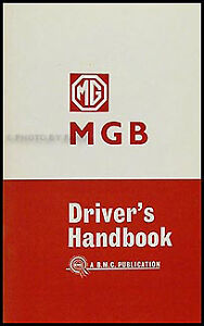 MG-MGB-Owner-Manual-1962-1963-1964-1965-Driver-Handbook-NEW