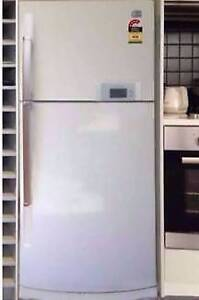 LG Fridge/Freeze 564 L Glasses shelving Can delivery Box Hill Whitehorse Area Preview