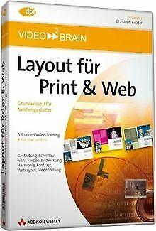 Layout für Print & Web - Video-Training (PC+MAC) von... | Software | Zustand gut