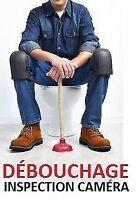 24/7  Plombier-débouchage Drain unclogging/plumber 438-875-4003