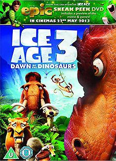 ICE AGE 3 WITH EPIC ACTIVITY BONUS DISC - DVD - REGION 2 UK