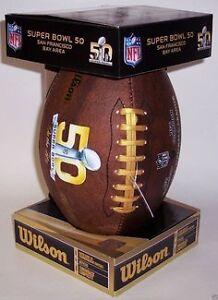 Wilson Super Bowl 50 Commemorative Football St. John's Newfoundland image 1