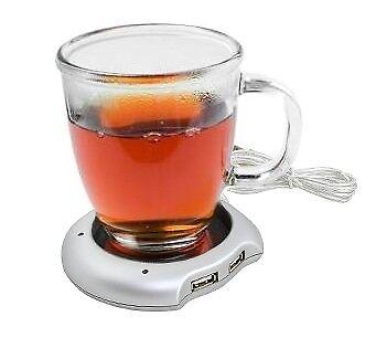 USB Tassenwärmer USB 1.1 Heizplatte Kaffeewärmer Gadget Kaffee Tee #070