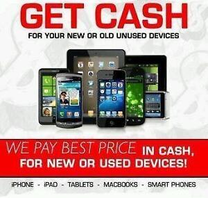 """If you Need Cash for your Used,New,Damaged Smart Phone/Tablet/Ipad/Macbook or Laptop-Call/Text 4167229406""""we buy it a"""