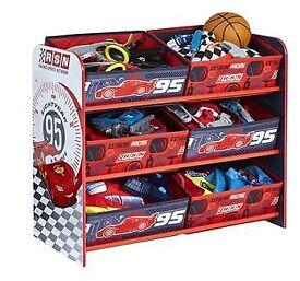 Disney Cars storage unit