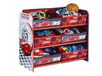 Disney Cars storage unit