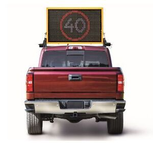 Vehicle Mounted Message Board - PCMS
