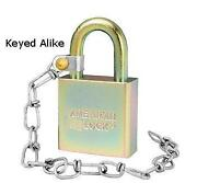 American Lock Keyed Alike