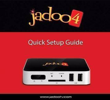LATEST JADOO4 IPTV BOX