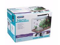 aquarium fish tank interpet nano led 19l