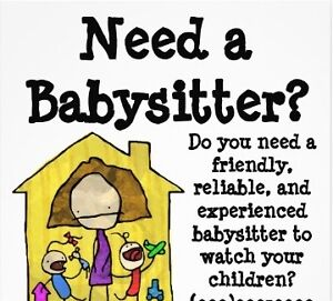Babysitter available - CBS or Paradise St. John's Newfoundland image 1