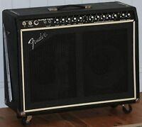 Vintage 1970s Fender Super Twin Tube Amp