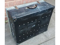Heavy Duty Equipment/ Cable case. Complete with XLR, MIDI, Audio, Speaker leads