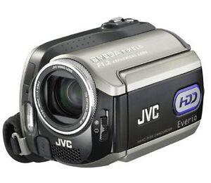 JVC Everio GZMG255 2MP 30GB Hard Disk Drive Camcorder with 10x