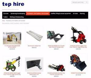 Top Hire. Excavators, Tools, Scaffolding Ryde Ryde Area Preview